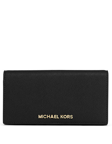 a61a7f5f9618 ... UPC 880492654789 product image for Michael Michael Kors Jet Set Leather  Large Slim Travel Wallet ...