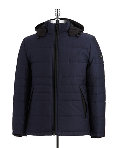 BUGATTI Quilted Hooded Coat