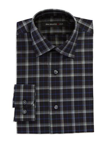 JOHN VARVATOS U.S.A.Plaid Dress Shirt