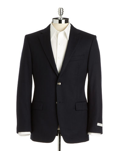 BLACK BROWN 1826 Slim-Fit Wool Cashmere Blazer