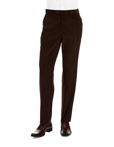 LAUREN RALPH LAURENFlat Front Corduroy Pants