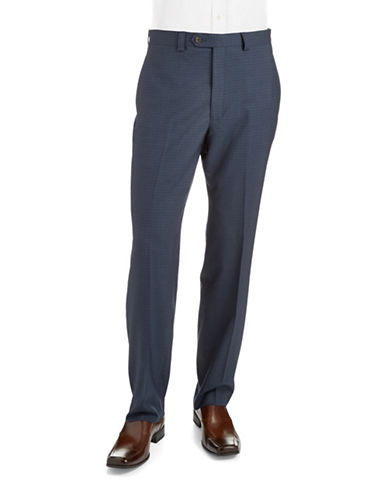 LAUREN RALPH LAUREN Slim Fit Patterned Dress Pants