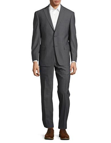 michael kors male checked plaid pants suit