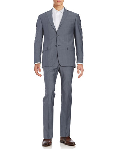 michael kors male wool and mohair suit set