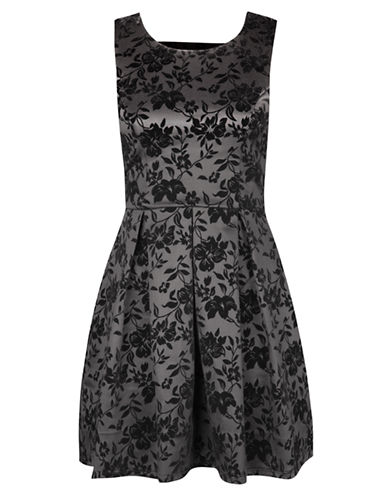DEXFloral Print Fit And Flare Dress