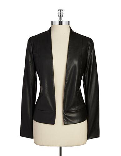 DEXOpen Front Leatherette Jacket