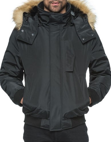Marc New York Men S Iridescent Nylon Down Filled Quilted Jacket 21