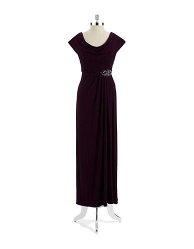 PATRAEmbellished Cowlneck Gown
