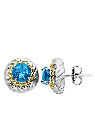 LORD & TAYLORBlue Topaz Earrings in Sterling Silver