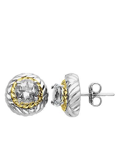LORD & TAYLORWhite Topaz Earrings in Sterling Silver