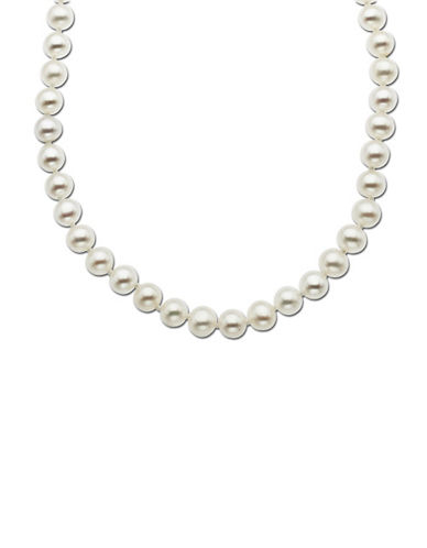 LORD & TAYLOR 14 Kt. Yellow Gold Freshwater Pearl Strand Necklace