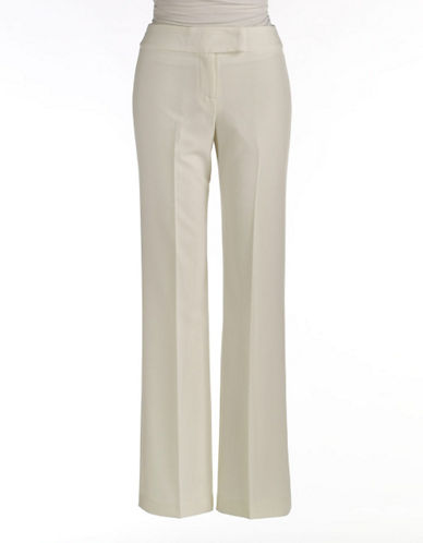 SHARAGANO Straight-Leg Pants