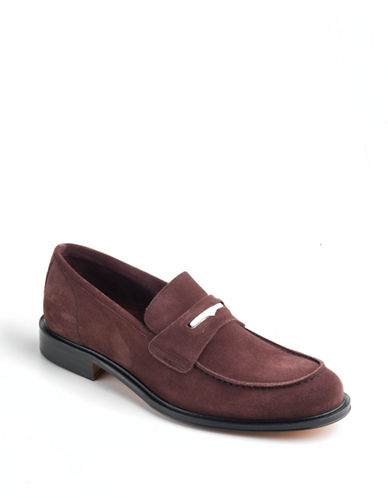 BRUNO MAGLI Padusia Suede Loafers