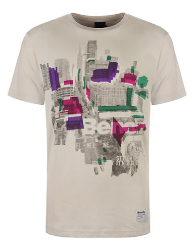 BENCH Cityscape Graphic T-Shirt