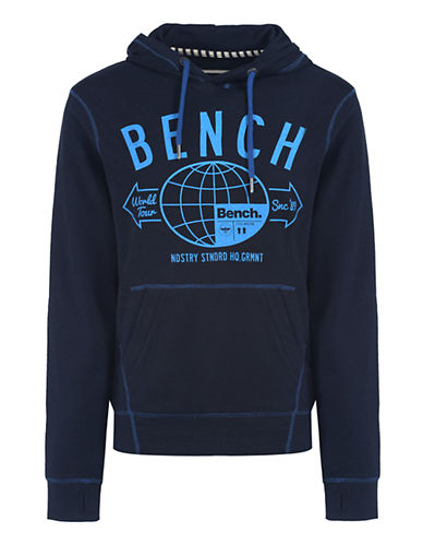BENCH Twoper Logo Graphic Hoodie