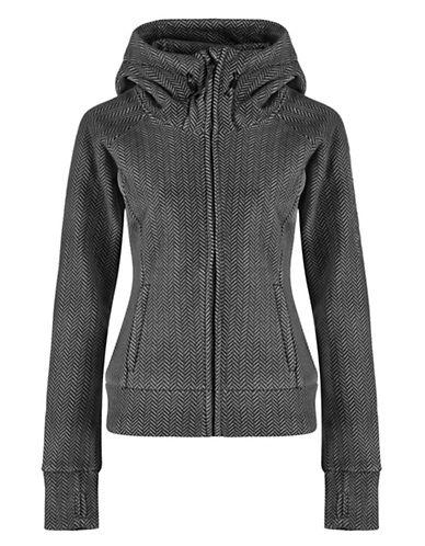 BENCHHooded Herringbone Jacket