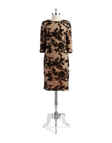 CHETTA BLace Sheath Dress