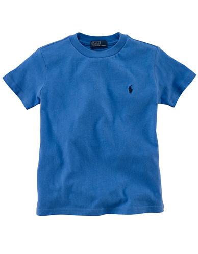 RALPH LAUREN CHILDRENSWEARBoys 8-20 Crew Neck T-Shirt