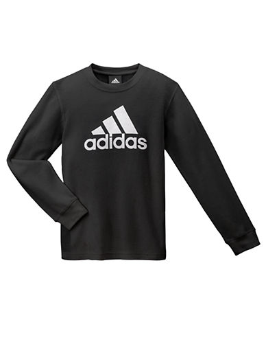 ADIDAS Boys 8-20 Thermal Logo Tee