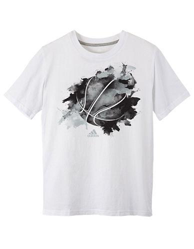 ADIDASBoys 8-20 Inked Ball T Shirt