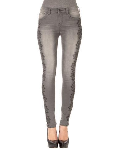 KENSIE JEANSSkinny Lace Print Jeans