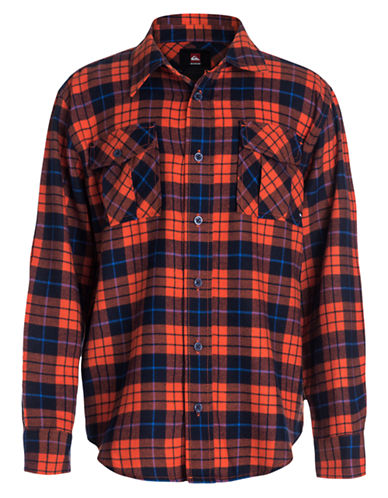 QUIKSILVER Boys 8-20 Plaid Flannel Shirt