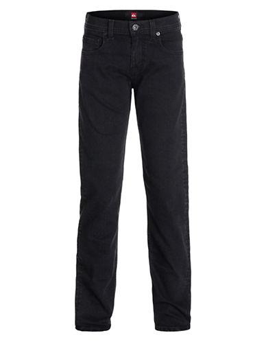 QUIKSILVERBoys 8-20 Distortion Dark Wash Slim Pants