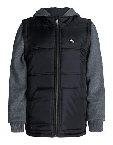 QUIKSILVERBoys 8-20 Detachable Sleeves Beilby Jacket