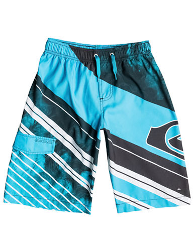 QUIKSILVER Boys 2-7 Space Intersect Volley Shorts