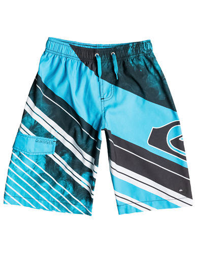 QUIKSILVER Boys 8-20 Space Intersect Volley Shorts