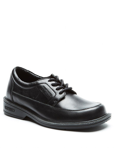 KENNETH COLE REACTIONWatch Ur Prep Square Toe Leather Dress Shoes