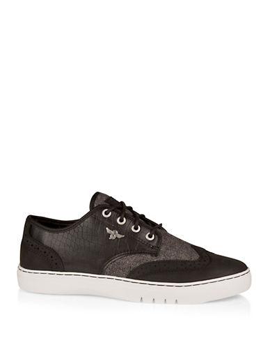 Creative Recreation Defeo Q Croc-Embossed Oxford-Sneakers