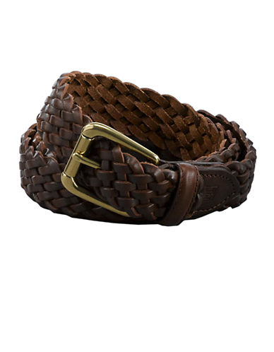 LAUREN RALPH LAURENBraided Leather Belt