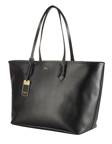 LAUREN RALPH LAURENTate Classic Leather Tote Bag