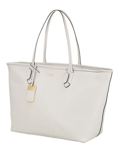 LAUREN RALPH LAURENTate Leather Classic Tote Bag