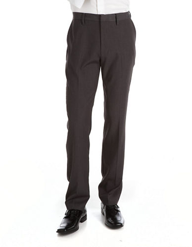 KENNETH COLE NEW YORKFlat-Front Dress Pants