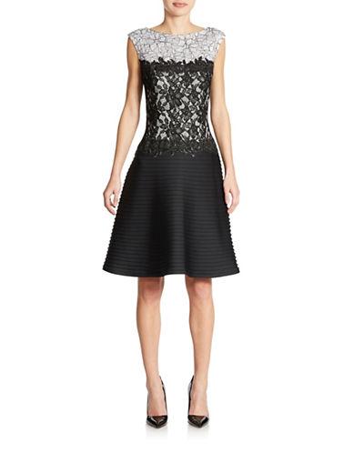 Shop Tadashi Shoji online and buy Tadashi Shoji Lace Party Dress dress online