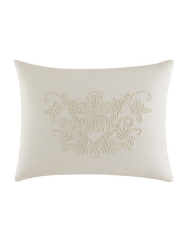 vera wang female passimenterie embroidered decorative pillow