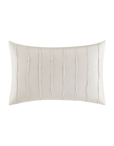 vera wang female passimenterie pleated silk decorative pillow