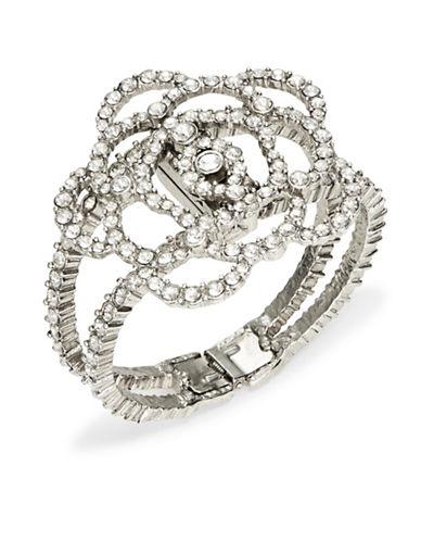 OSCAR DE LA RENTAFloral Crystal Cuff Bracelet