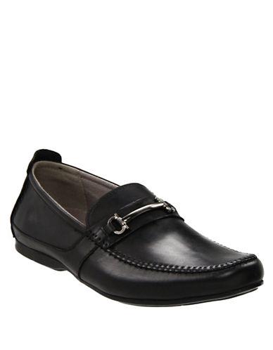 STEVE MADDENKatts Leather Loafers