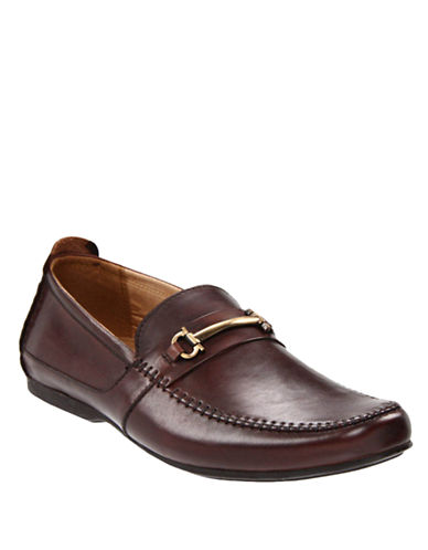 STEVE MADDEN Katts Leather Loafers
