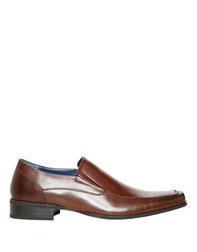 STEVE MADDENEdgge Leather Loafers