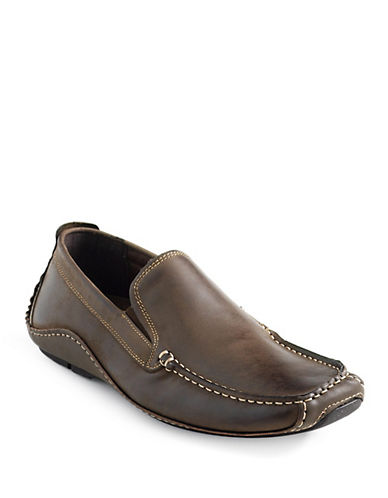 STEVE MADDENRocckit Leather Loafers