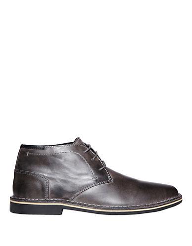 STEVE MADDENHestonn Leather Chukka Boots