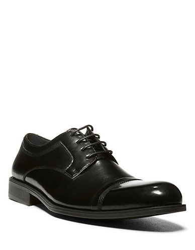 STEVE MADDENMinted Leather Oxfords