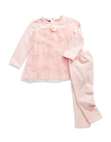 WENDY BELLISSIMO Baby Girls Two Piece Tulle Set