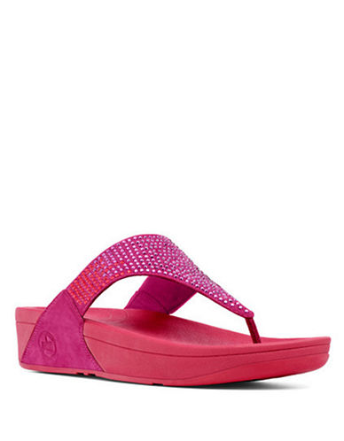 FITFLOPFlare TM Suede Thong Sandal