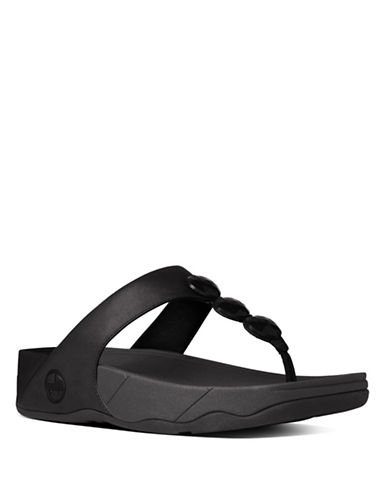Shop Fitflop online and buy Fitflop Pietra Leather Toe Thongs shoes online