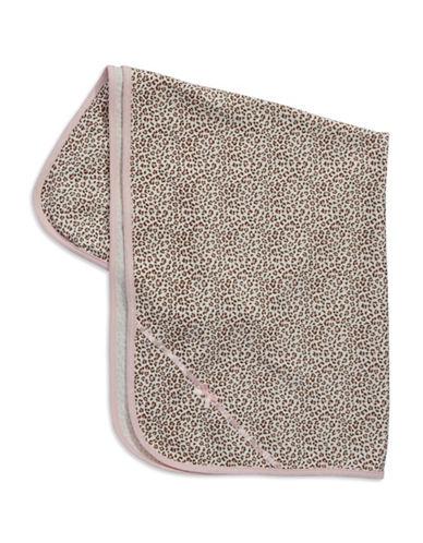 LITTLE MELeopard Print Cotton Blanket